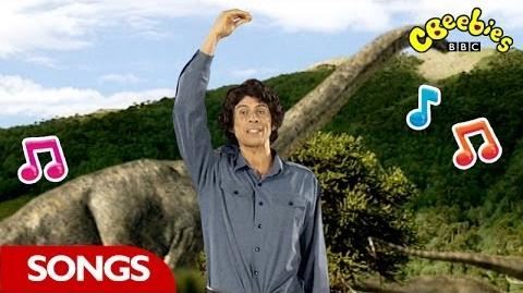 Brachiosaurus Rap From Andy's Dinosaur Adventures - CBeebies