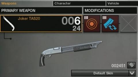 APB Weapon Demonstration - Joker TAS20