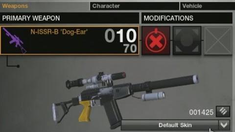 "APB Weapon Demonstration - N-ISSR-B ""DOG-EAR"""