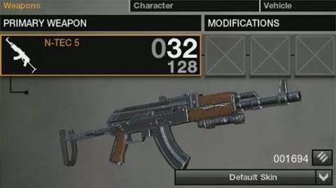 APB Weapon Demonstration - N-TEC 5
