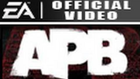 APB Gameplay Trailer