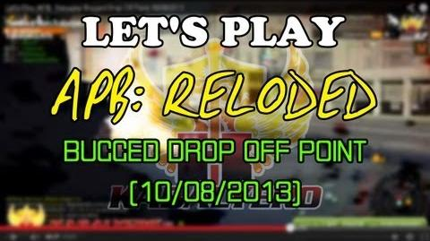Let's Play APB Reloaded Bugged Drop Off Point 10 08 2013 (twitch.tv kabalyerotv)