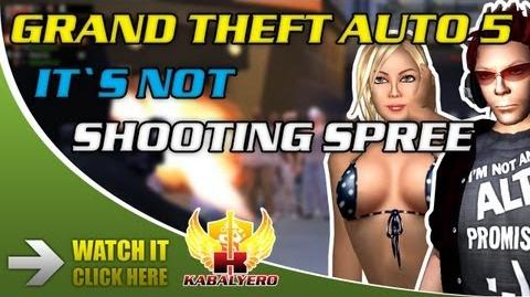 This Is NOT Grand Theft Auto 5 - Shooting Spree - Killing Pedestrians