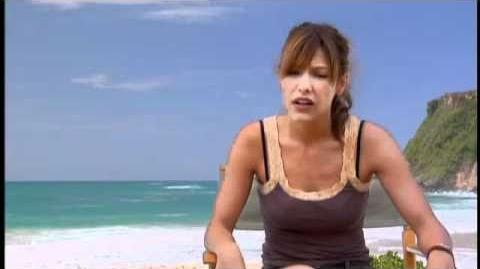 Kiele Sanchez on how we get introduced to her character in A Perfect Getaway, Interview