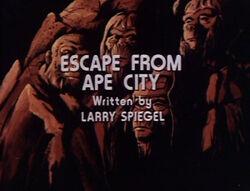 Escapefromapecity