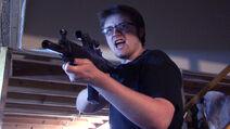 Tom with Machine Gun