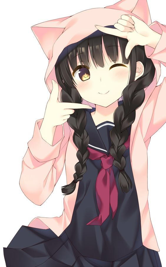 Image 5892e7f3cc64c8a912e2494a3ff77e08 neko girl cute for Imagenes movibles anime