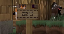 Brightport Welcome sign