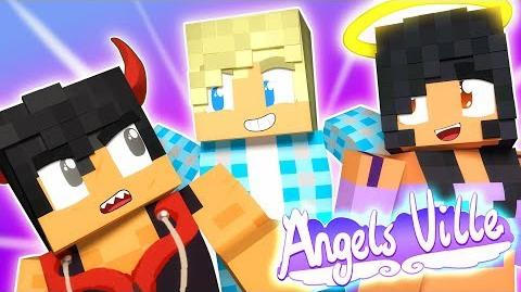 Garroth Meets His Sons Angelsville Minecraft Survival Ep.3