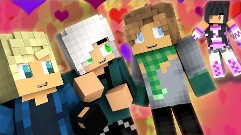 Secret Lovers - Valentine's Date PT.1 Minecraft MyStreet Ep