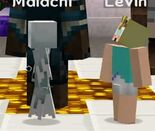 Levin and malachi dancing together 4