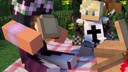 Garroth & Aphmau on a picnic