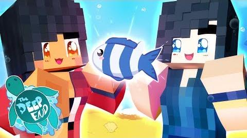 ItsFunneh How Fish Work! The Deep End Minecraft Survival Episode 2-0