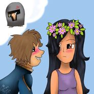 Aphmau,Laurance and Garroth(kinda)