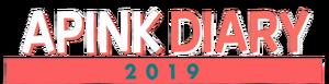 Apink Diary 2019