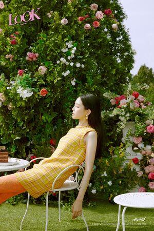 LOOK Concept Teaser Naeun 1