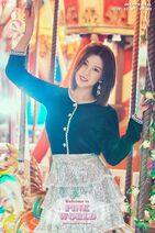 Welcome to PINK WORLD Chorong