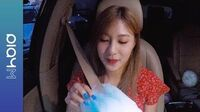 OH HAYOUNG (오하영) - Don't Make Me Laugh (with Cotton Candy) (Live Inside the Car)