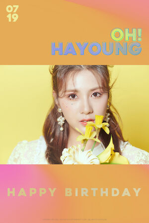 Happy Hayoung Day 2020