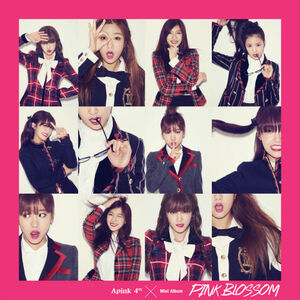 Pink blossom cover