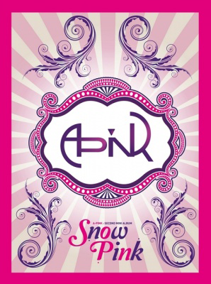 Snow pink physical cover