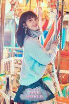 Welcome to PINK WORLD Eunji