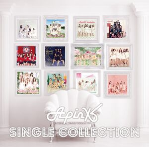 Apink single collection limited edition cover