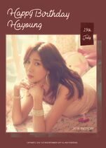 Happy Hayoung Day 2019