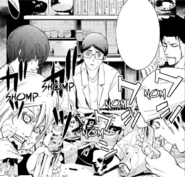 35 Cell 4 and Shinpei eating with Yukko