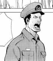 01 a Guard yelling at Cells 4 and 8
