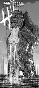 44 Maeda holds the Bokor's head