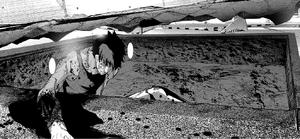 44 Iwakura rises from a hole