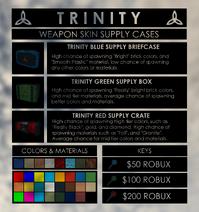 Trinity Crate Update