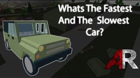 Whats The Fastest Car? Apocalypse Rising