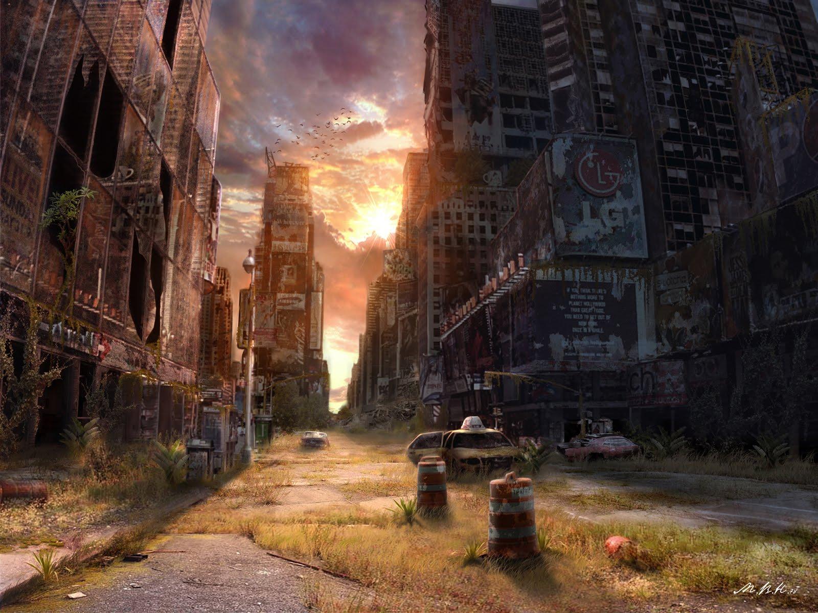 Apocalypse Wallpaper Of City