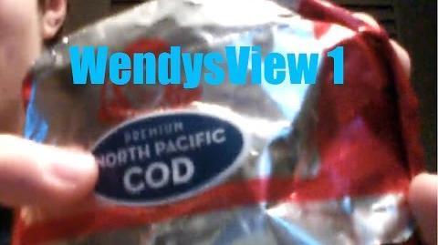 WendysView Premium North Pacific Cod Sandwich