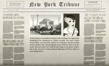 Roland Turkish Adventure Newspaper