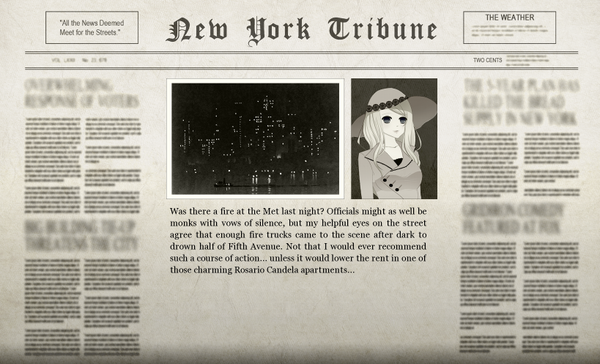 The Serpent Empire Adventure 2 Newspaper
