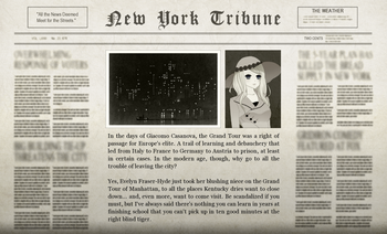 The Evelyn Adventure Newspaper