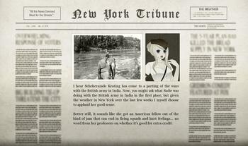 Felix Indian Adventure Newspaper