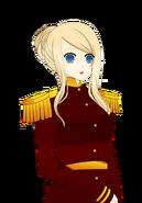 Sadie Military Surprised