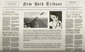 The Royal Family Adventure Newspaper