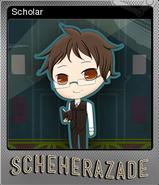 Scholar Foil Card