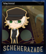Machinist Reg Card