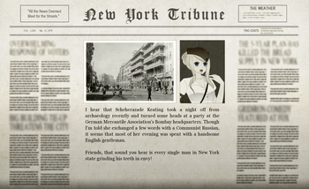 The Great Game Adventure Newspaper