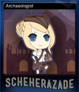 Archaeologist Reg Card