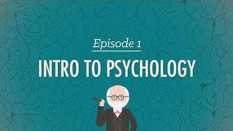 Intro to Psychology - Crash Course Psychology -1