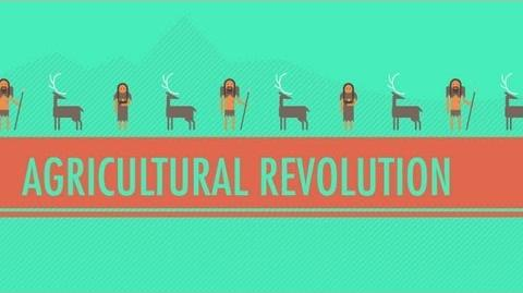 The Agricultural Revolution- Crash Course World History -1