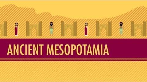 Mesopotamia- Crash Course World History -3