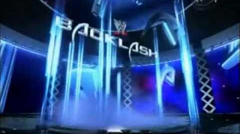 WWE Backlash (2003) Pyro